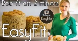 Easyfit: aprenda a fazer Bolo de caneca Fit