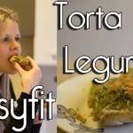 Torta de legumes sem glúten, lactose e ovo
