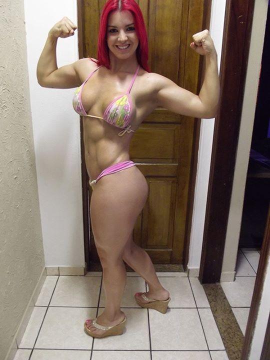 woman brasil fitness bianca ruiva