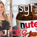 Receita: Nutella Fake