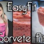 Como fazer sorvete de morango saudável