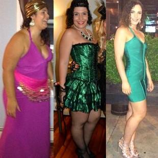 REPRODUÇÃO/INSTAGRAM Fotos de antes, durante e depois da blogueira