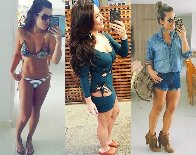 REPRODUÇÃO/INSTAGRAM A famosa conseguiu mudar o panorama de perda de peso depois de tratar um problema hormonal