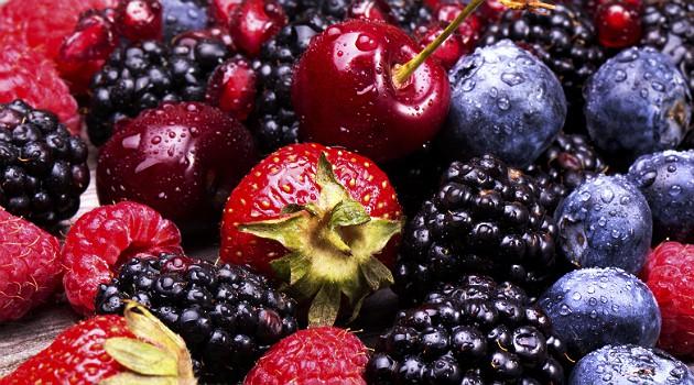 Frutas vermelhas podem ser uma opção saborosa para a sobremesa