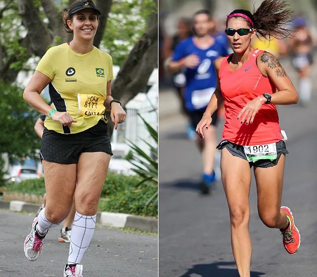 ARQUIVO PESSOAL/GISELLI SOUZA Transformação de Giselli Souza, que perdeu ao todo 20 kg