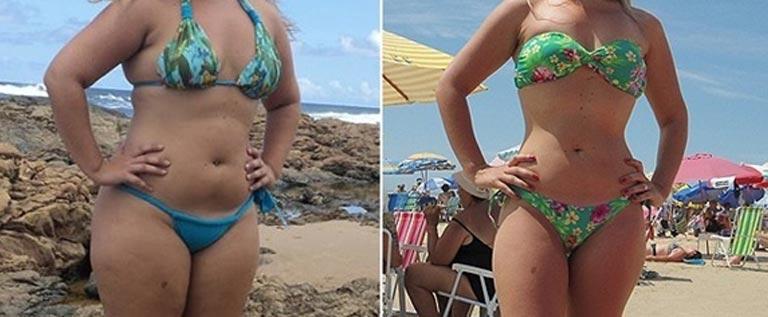 Se a mulher pode perder o peso em respostas de ginásio